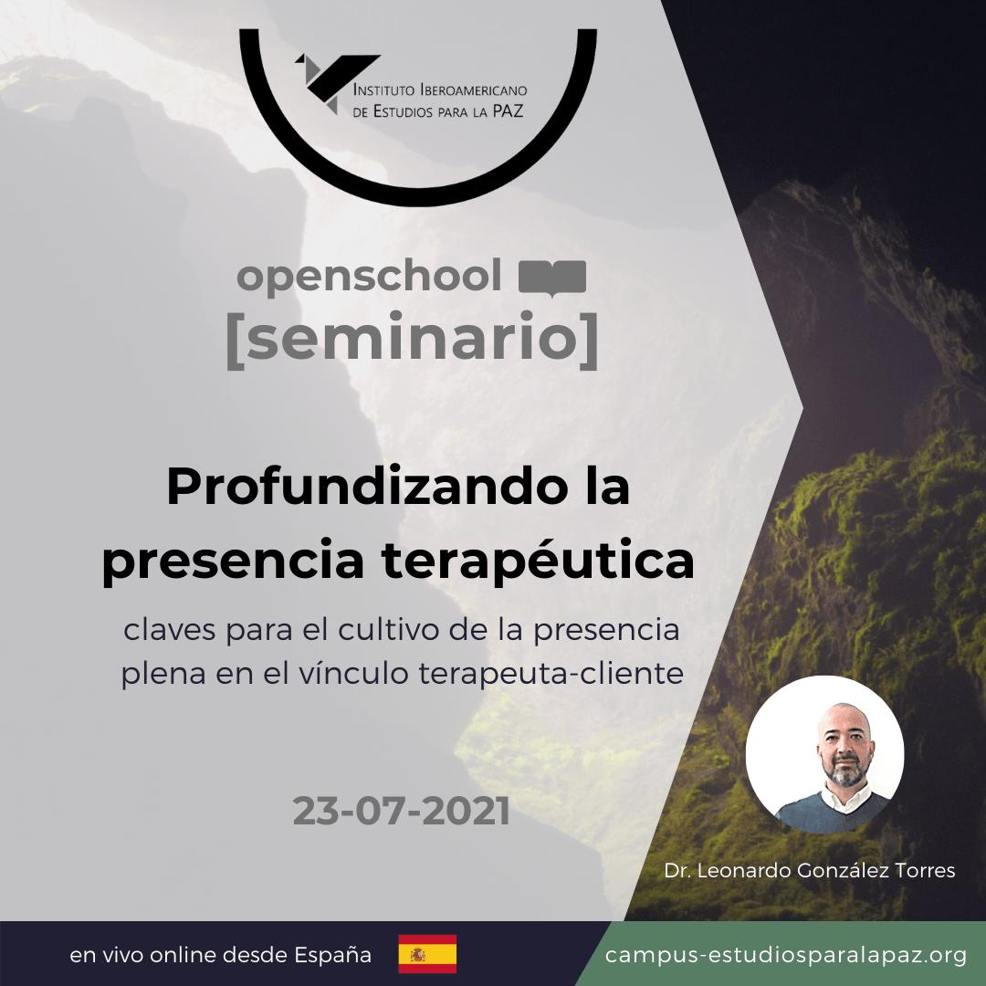 seminario presencia terapéutica_cartel chico